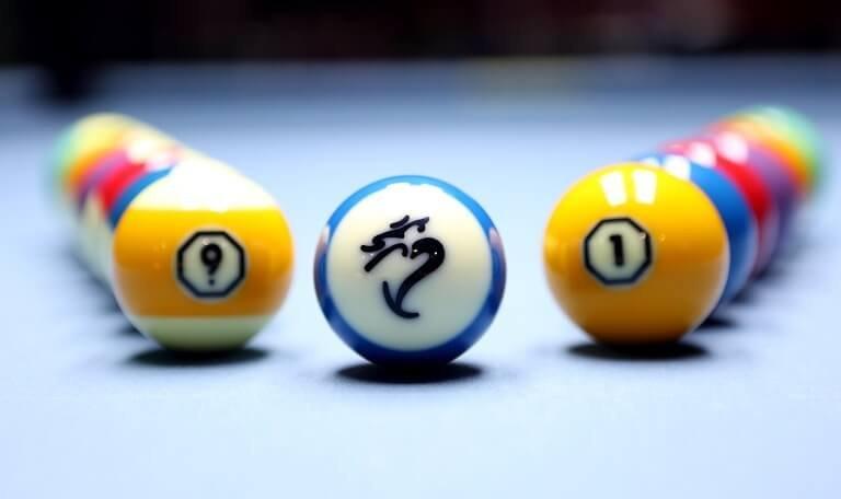 Cyclop Hyperion Pool Balls