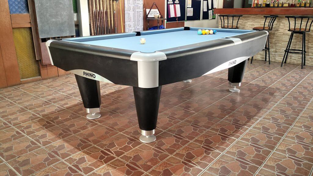 rhino sport pool table pattaya
