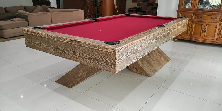 Rhino Air 8ft pool table (1)