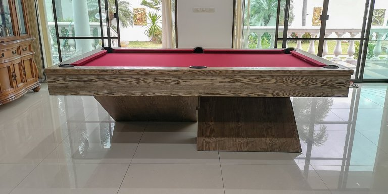 Rhino Air 8ft pool table (2)